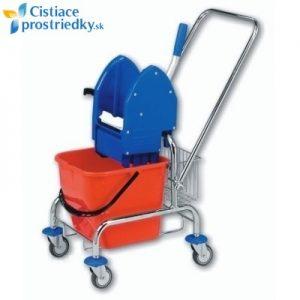Jednovedrový vozík s košíkom