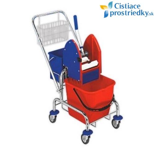 Upratovací vozík Clasic 1x17L s vedrom a košíkom