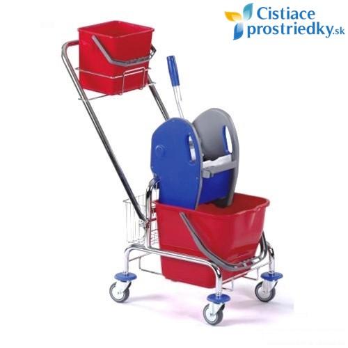 Vozík CLASIC 1x17L + zadný košík + košík na rukoväť svedrom 6L