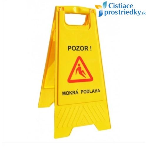 Výstražná tabuľa Pozor, mokrá podlaha