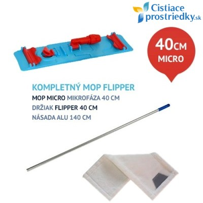 Upratovacia sada FLIPPER micro 40 cm