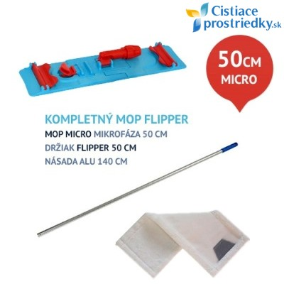 Upratovacia sada FLIPPER micro 50 cm