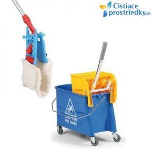 Sada na umývanie podlahy - malý vozík s mopom 40 cm