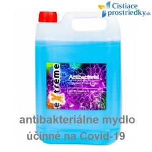 antibakteriálne mydlo na COVID-19