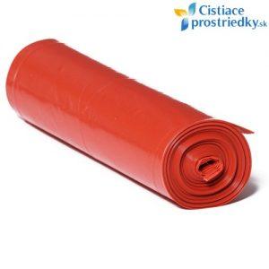 Červené vrecia na odpad 120 litrov 25 ks