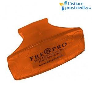 FRE PRO WC klip závesný osviežovač vzduchu na WC misu Mango oranžový