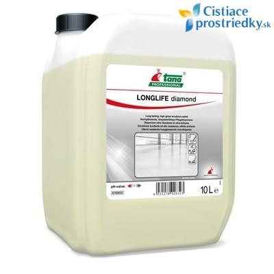 Longlife Diamond ošetrujúca emulzia, disperzia - polymér na PVC, linoleum 10 L