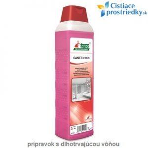 Sanet Ivecid koncentrát s dlhotrvajúcou vôňou pre kúpeľne a sociálne zariadenia - 1 L