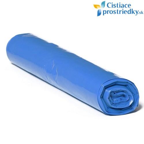 Vrecia na smeti 120 litrov 700x1100 mm modré