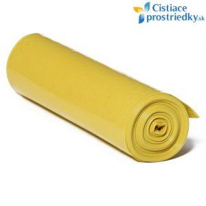 Žlté vrecia na triedený odpad 120 litrov 25 ks